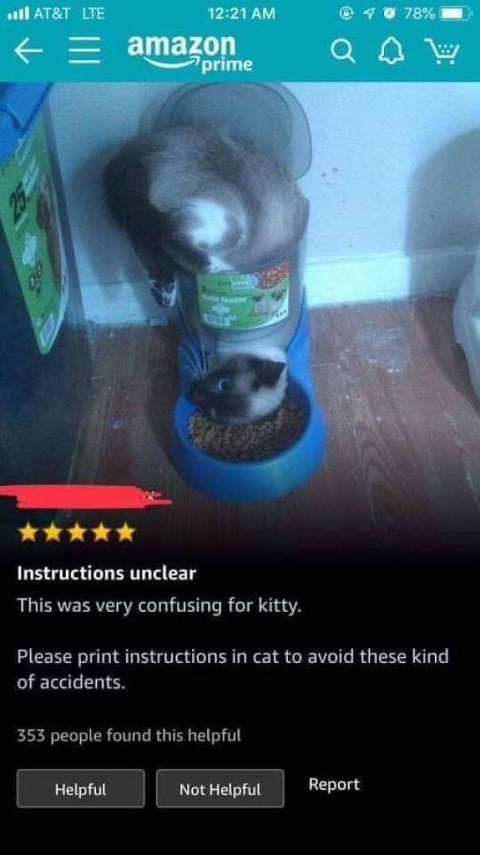 Instructions Were Unclear
