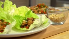 [요리천국] 닭고기 상추 보쌈