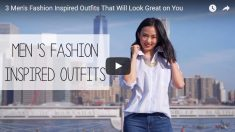 [Fashion] 남성복에서 착안안 세가지 여성 패션 제안 (영)