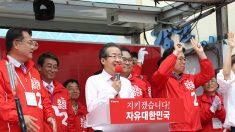 홍준표, 대선막판 보수공략 집중..서울 강원 유세