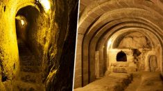 우연히 발견된 지하8층 거대도시, 3천년 전 지하벙커?