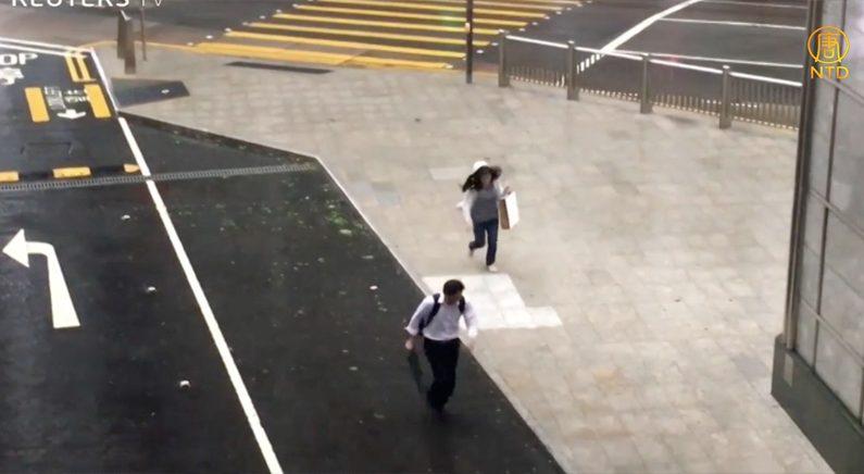 [영상] 태풍 '하토'로 마비된 홍콩