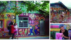 대만여행 인생샷은 여기, 알록달록 타이중 무지개 마을