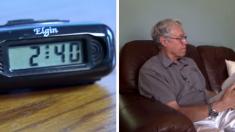 13년째 일정한 시간에 울리는 알람 시계, 그 이유는?
