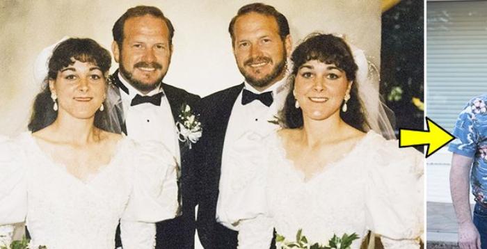 일란성 쌍둥이 끼리 서로 결혼한 부부, 24년간 함께 생활하다