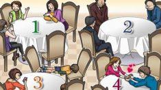 스트레스 지수 테스트 : 가장 피하고 싶은 테이블은?