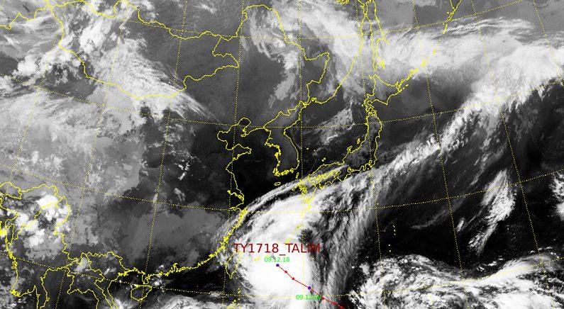 주말에 다가올 태풍 '탈림' 한반도 영향 미칠까