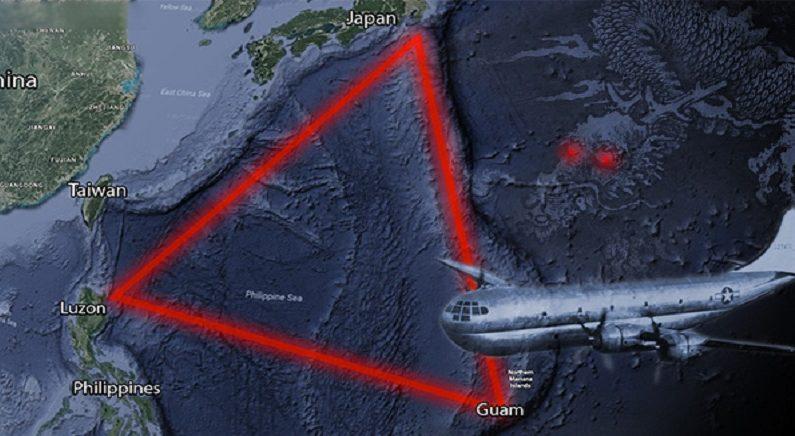 동양의 버뮤다 삼각지대로 불리는 태평양의 '용의 삼각지대'