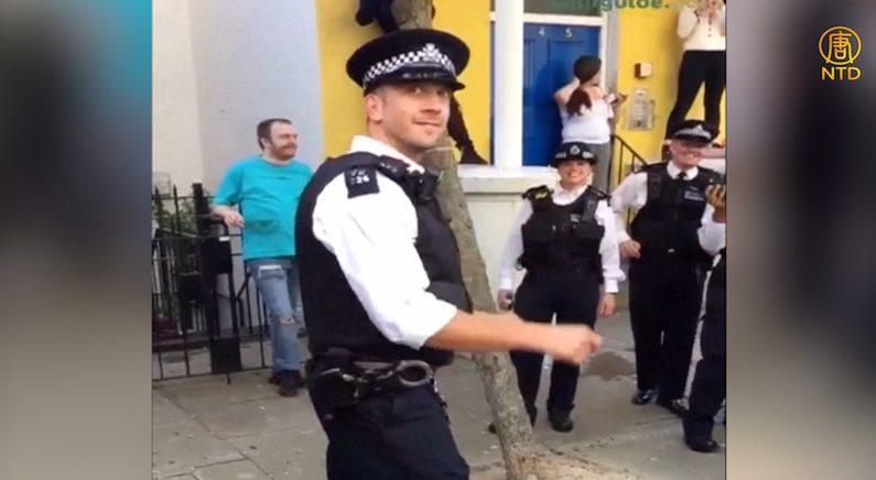 [영상] 끼 넘치는 런던 경찰관..