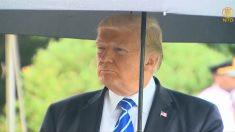 """[영상] 트럼프, """"대북 군사행동 첫째 선택 아냐"""""""