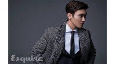 최시원, 패션 매거진 '에스콰이어 홍콩' 10월호 커버 장식!