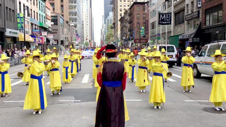 한국 전통 예악 퍼레이드 맨하탄 거리에서 열려