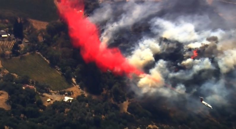 [영상] 美 캘리포니아 대형 산불, 피해 확산