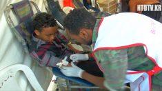[영상] 이웃 나라 돕자.. 헌혈에 나선 사람들