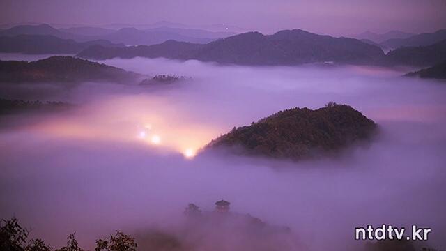 국사봉 운무 (Cloud Dance)