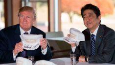 트럼프와 아베의 골프 회동의 의문점