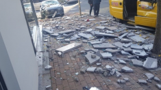 [현장 포토] 경북 포항시 북구 북쪽 6Km 지역서 규모 5.4 지진 피해 현장