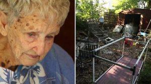 정원을 치우지 않아서 벌금을 물게 된 할머니의 수호천사들!