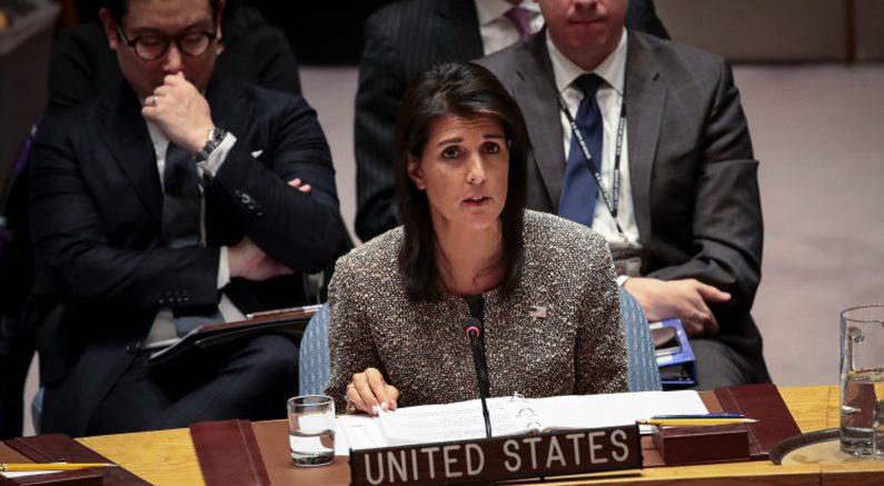 중⋅미 정상 심야 통화,헤일리 유엔 대사'북한 완전 소멸할 것'