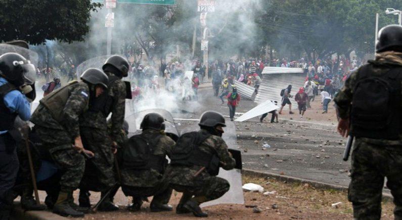 온두라스, 선거 부정 혐의로 전국 폭동…비상사태 진입
