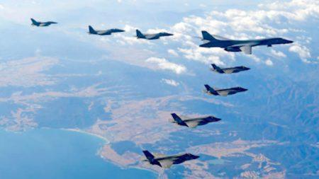 한미 비질런트 에이스 연습에 북한 전쟁위협으로 대응