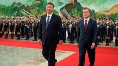 한반도 정세 고도 긴장, 문재인 대통령 중국과 북핵 협의