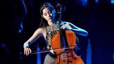 NASA 시상식에 초대된 대만 국민여동생의 첼로 연주(영상)