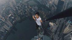 中청년, 거액 상금 노리고 62층 빌딩 올랐다가 추락사