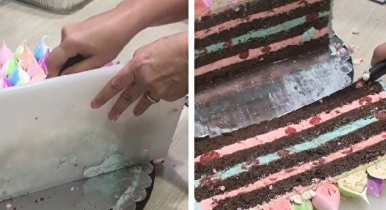 케이크를 자르는 기발한 방법