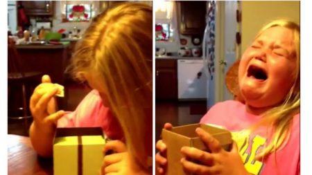 컵케이크를 받고 대성통곡하는 9세 소녀의 사연은?