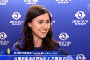 캐나다 배우, 중국무용의 표현력에 경탄