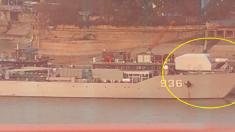 레일건 탑재된 중국 전함 사진 공개돼..미중 해전 '게임 체인저' 되나