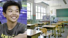 '빨간 스카프' 매기를 거부한 한 중국 초등학생의 사연