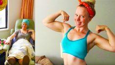 '절망 속에서도 포기하지 않아' 운동으로 암을 이겨낸 여성