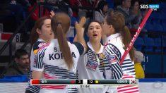 여자컬링, 중국 꺾고 5승1패로 승승장구..다음 상대는