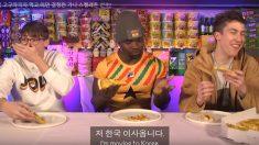 한국 피자 맛에 놀란 가나 프림퐁..헬멧에 담긴 인생스토리 '감동'