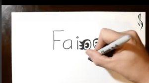 (영상) 글자가 만들어내는 또 다른 세상