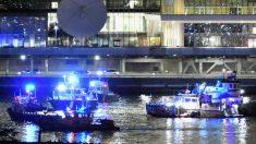 인스타그램에 잡힌 헬리콥터 사고장면