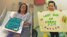 끈질긴 암과의 싸움에서 승리한 암 생존자들이 보내는 희망 한 줌