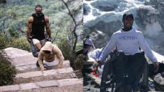 하반신 마비, 손으로 걸어서 에베레스트에 오른 남자(영상)