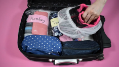여행 때 난리 나는 가방 잠재울 수 있는 역대급 꿀팁(영상)