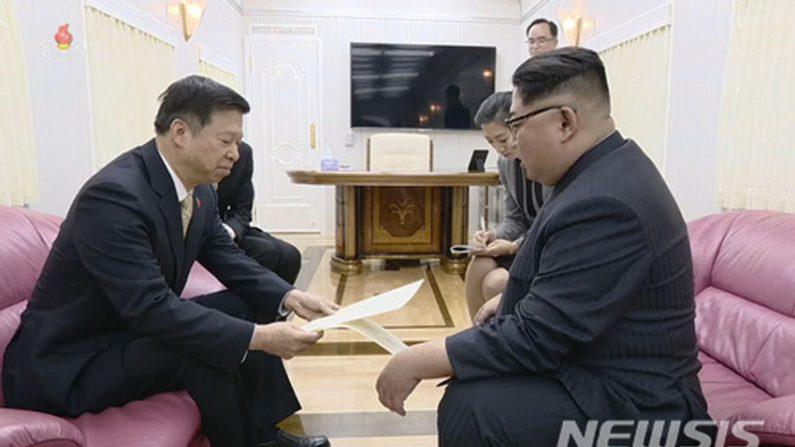 김정은, 쑹타오 만나 북중관계 강화 합의