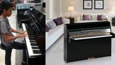 지나가다 전시된 피아노 연주한 어린 천재, '리버풀의 아이'가 되다