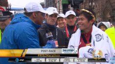 日공무원, 보스턴마라톤서 지난 챔피언 제치고 깜짝 우승
