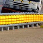 국내에서 만든 놀라운 발명품 '롤러 가드레일'