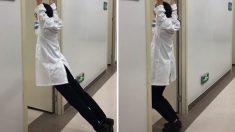 허리 디스크 증상 완화에 도움을 줄 수 있다는 철봉체조(영상)