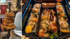 튀어도 너무 튀는 음식 … 레스토랑의 '별별' 시도 10 (사진)
