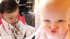 입술을 삐죽 내민 모습에 '심쿵', 사랑스러운 아기 사진 10