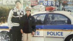 '한국 경찰의 친절함에 감동해 경찰이 된 일본 소년'