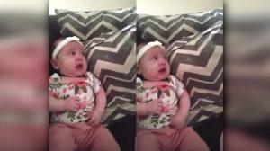 """(영상) """"안 멈출 거야!"""" 작정하고 우는 아기를 달래는 '동물 친구'의 독특한 비법"""
